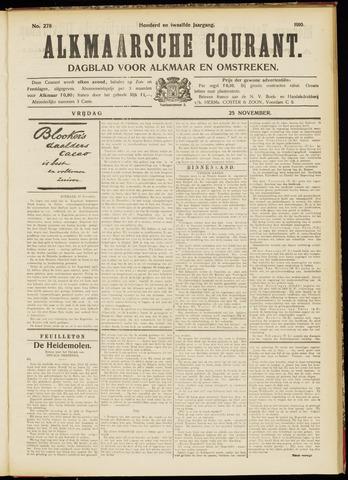 Alkmaarsche Courant 1910-11-25