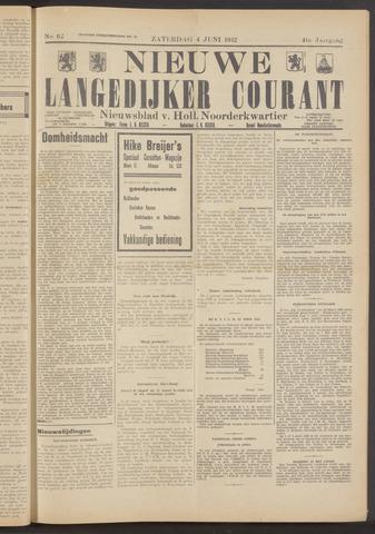 Nieuwe Langedijker Courant 1932-06-04