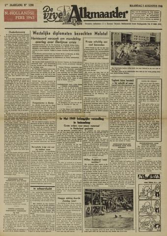 De Vrije Alkmaarder 1948-08-02