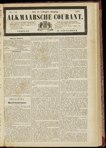 Alkmaarsche Courant 1881-09-23