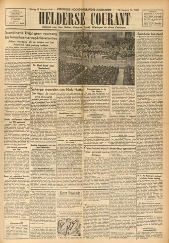 Heldersche Courant 1949-02-15
