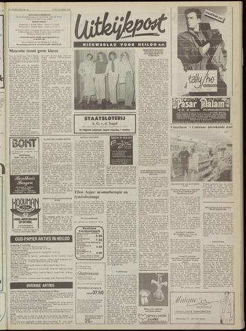 Uitkijkpost : nieuwsblad voor Heiloo e.o. 1984-09-26