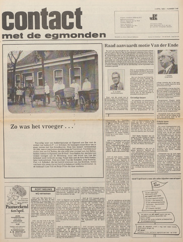 Contact met de Egmonden 1980-04-02