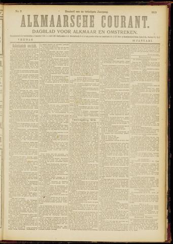 Alkmaarsche Courant 1919-01-10