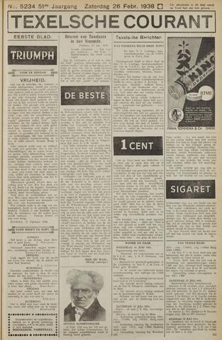 Texelsche Courant 1938-02-26