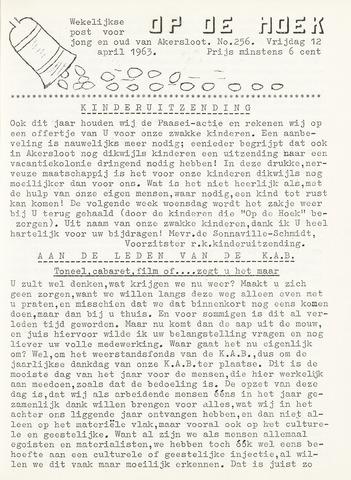 Op De Hoek, weekblad voor Akersloot 1963-04-12
