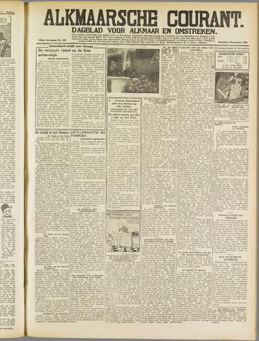 Alkmaarsche Courant 1941-11-04