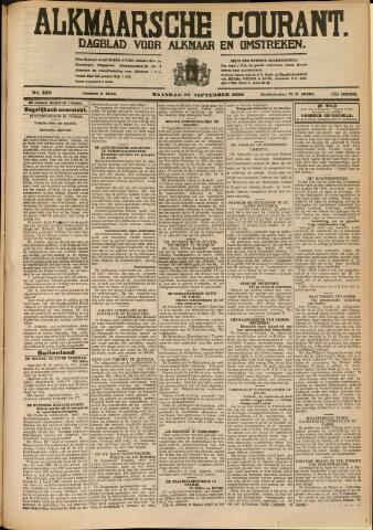 Alkmaarsche Courant 1930-09-29