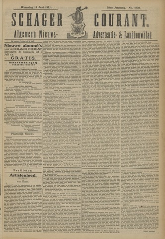 Schager Courant 1911-06-14