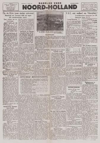 Dagblad Noord-Holland, Schager editie 1944-04-17