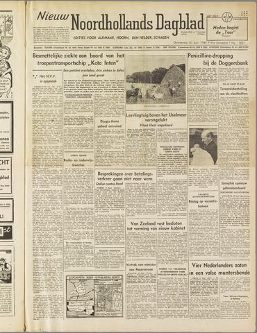 Nieuw Noordhollandsch Dagblad : voor Alkmaar en omgeving 1949-06-30
