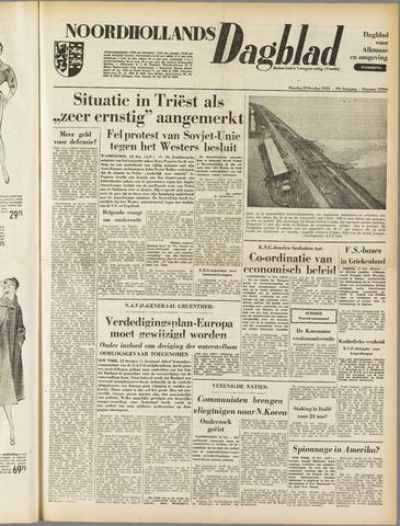 Noordhollands Dagblad : dagblad voor Alkmaar en omgeving 1953-10-13