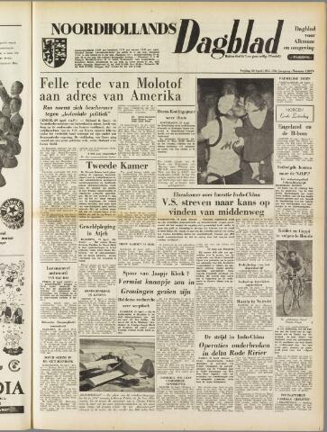 Noordhollands Dagblad : dagblad voor Alkmaar en omgeving 1954-04-30