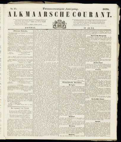 Alkmaarsche Courant 1870-06-19