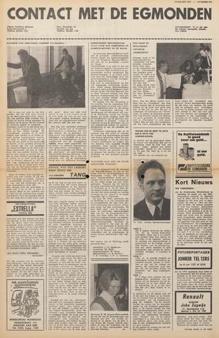 Contact met de Egmonden 1971-03-10