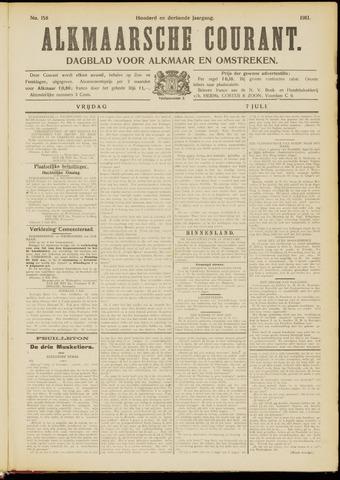 Alkmaarsche Courant 1911-07-07