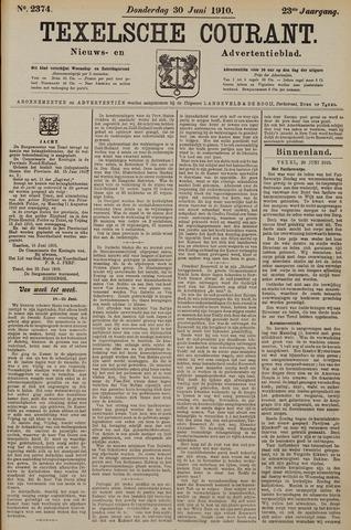 Texelsche Courant 1910-06-30