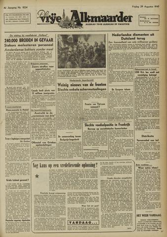 De Vrije Alkmaarder 1947-08-29