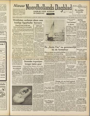 Nieuw Noordhollandsch Dagblad : voor Alkmaar en omgeving 1952-07-29