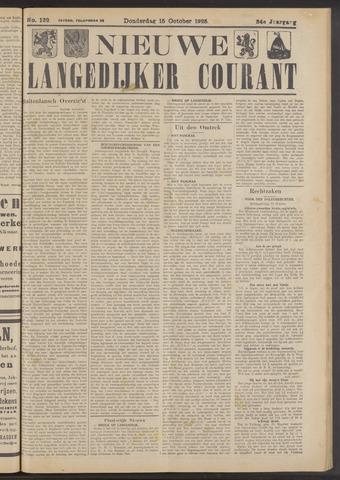 Nieuwe Langedijker Courant 1925-10-15