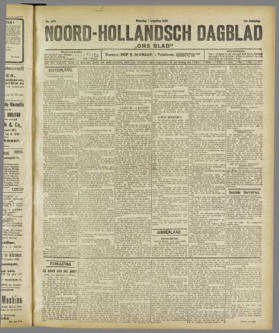 Ons Blad : katholiek nieuwsblad voor N-H 1922-08-07