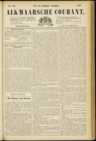 Alkmaarsche Courant 1882-09-06