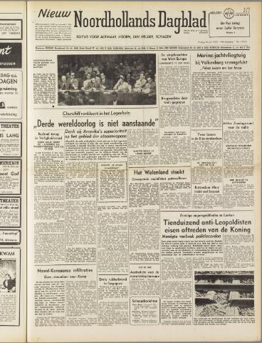 Nieuw Noordhollandsch Dagblad : voor Alkmaar en omgeving 1950-07-28