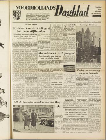 Noordhollands Dagblad : dagblad voor Alkmaar en omgeving 1953-10-31