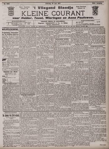 Vliegend blaadje : nieuws- en advertentiebode voor Den Helder 1902-06-28