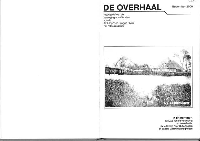 De Overhaal: historisch magazine Heerhugowaard 2000-11-01
