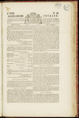 Alkmaarsche Courant 1852-11-22