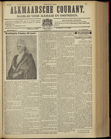 Alkmaarsche Courant 1928-08-02