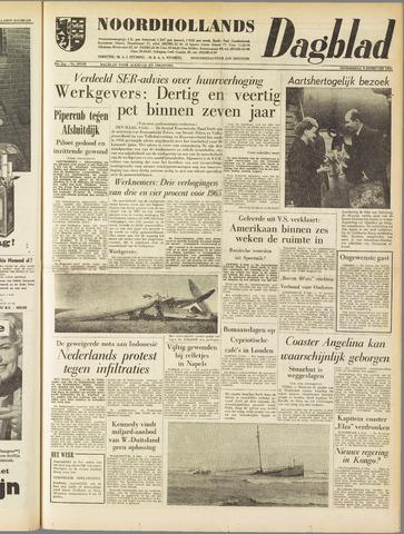 Noordhollands Dagblad : dagblad voor Alkmaar en omgeving 1961-02-09