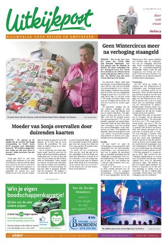 Uitkijkpost : nieuwsblad voor Heiloo e.o. 2015-12-23