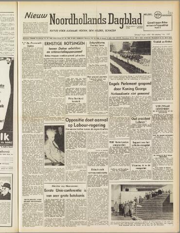 Nieuw Noordhollandsch Dagblad : voor Alkmaar en omgeving 1950-03-07