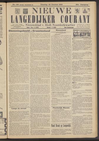Nieuwe Langedijker Courant 1929-10-22