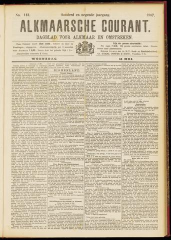 Alkmaarsche Courant 1907-05-15