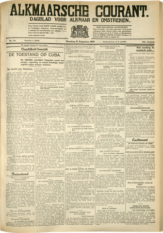 Alkmaarsche Courant 1933-08-15