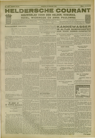 Heldersche Courant 1931-02-03