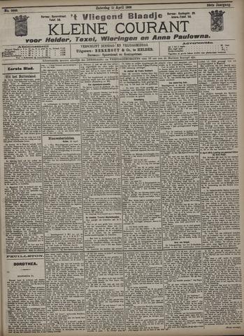 Vliegend blaadje : nieuws- en advertentiebode voor Den Helder 1908-04-11