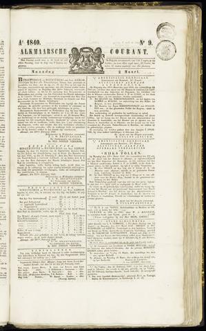 Alkmaarsche Courant 1840-03-02