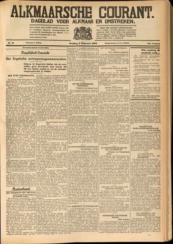 Alkmaarsche Courant 1934-02-02