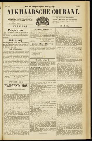 Alkmaarsche Courant 1894-05-16