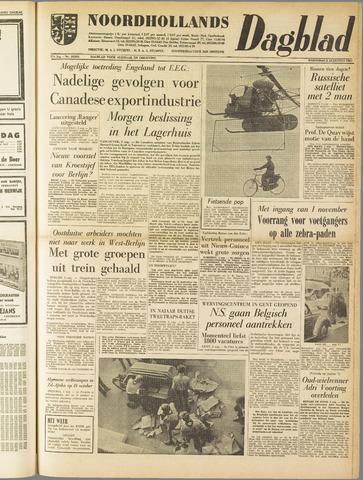 Noordhollands Dagblad : dagblad voor Alkmaar en omgeving 1961-08-02