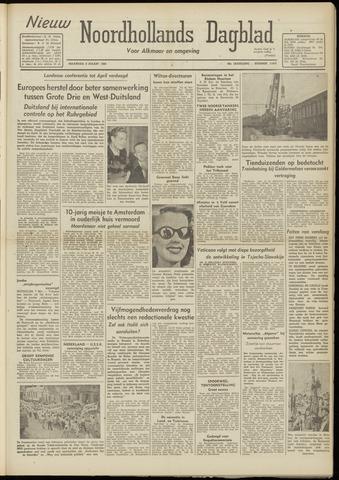 Nieuw Noordhollandsch Dagblad : voor Alkmaar en omgeving 1948-03-08