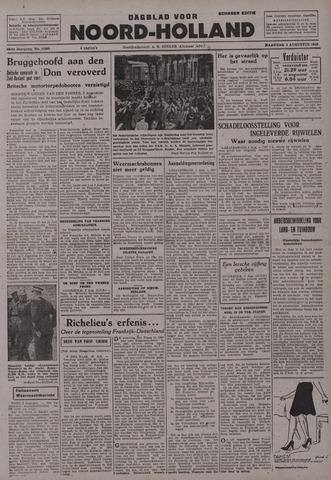 Dagblad Noord-Holland, Schager editie 1942-08-03