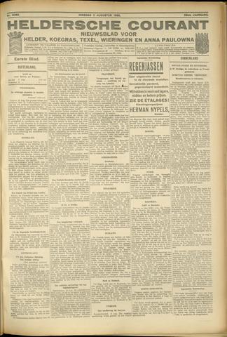 Heldersche Courant 1925-08-11