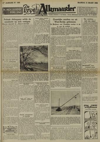 De Vrije Alkmaarder 1949-03-21