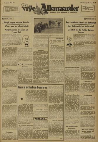 De Vrije Alkmaarder 1947-05-28