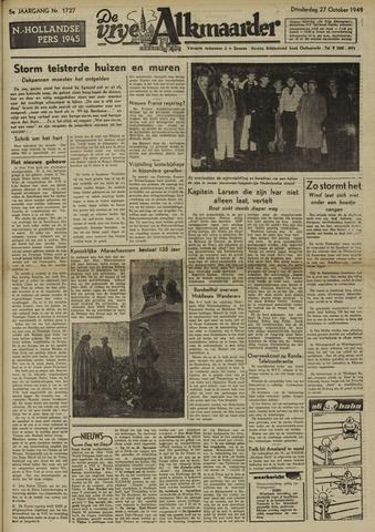 De Vrije Alkmaarder 1949-10-27